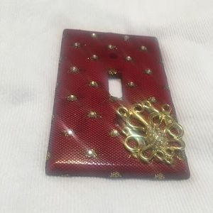 Light Switch Cover ~ Revamped